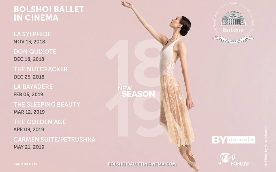 Bolshoi Ballet in Cinema 2018-19