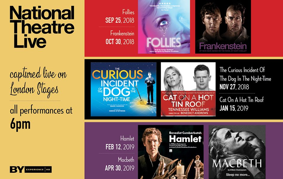 National Theatre Live 2018-19
