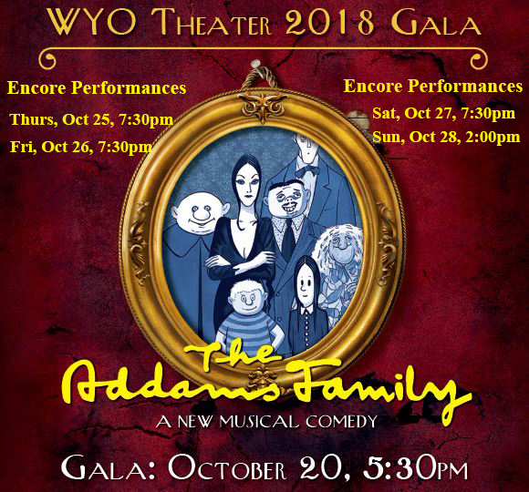 Gala 2018 – The Addams Family