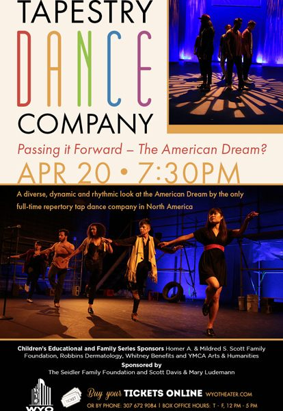 Tapestry Dance Company – Passing it Forward – The American Dream?