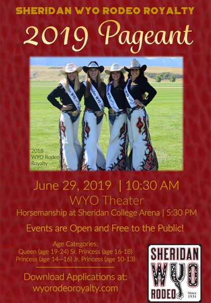 Sheridan WYO Rodeo Royalty Pageant