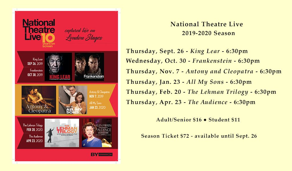 National Theatre 2019-2020