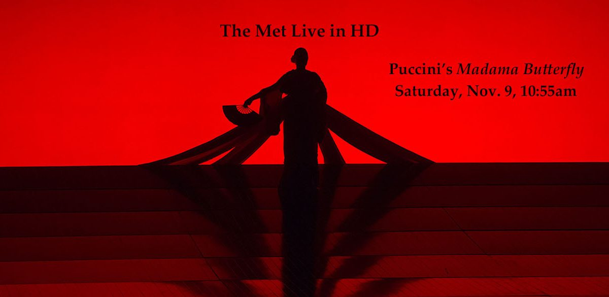 The Met Live in HD: Puccini's Madama Butterfly