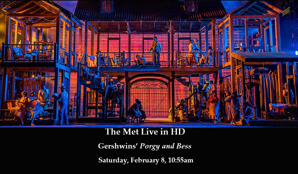 The Met Live in HD: Porgy and Bess