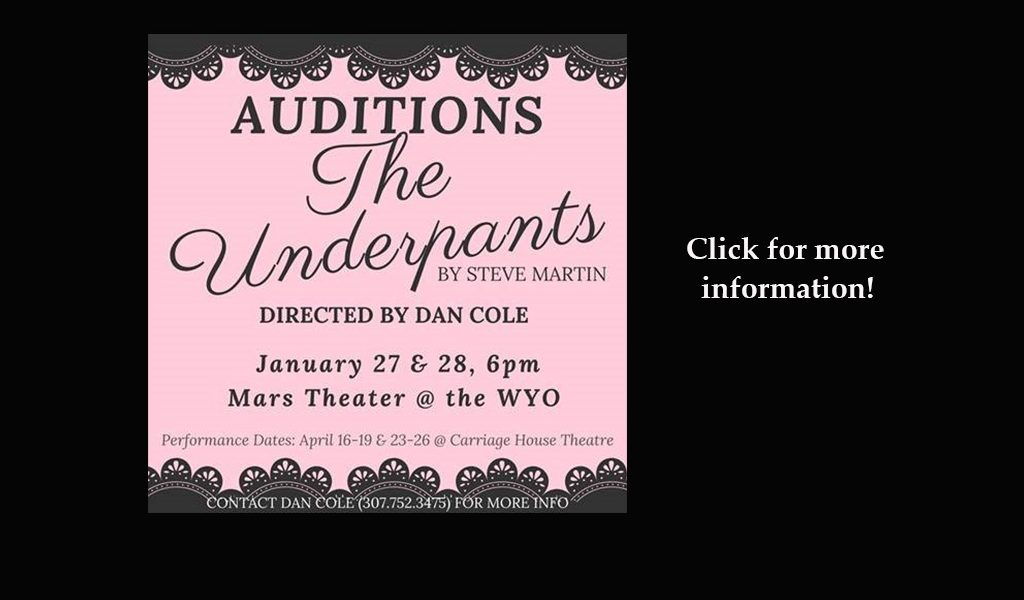 ** Audition Info ** for The Underpants