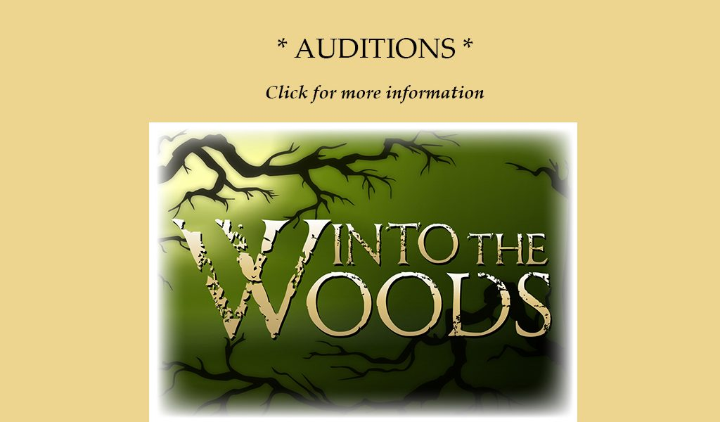 Auditions for Gala 2020 – Into the Woods