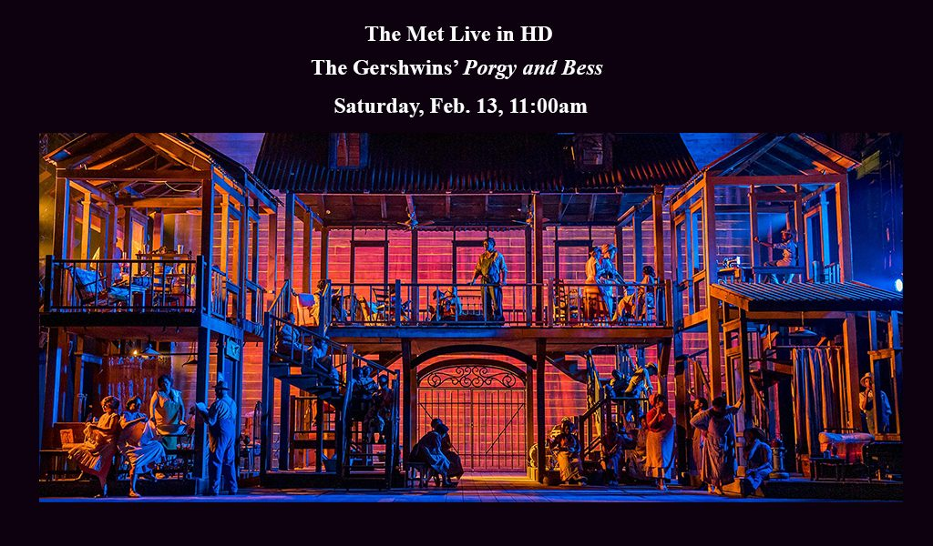 The Met Live in HD:  The Gershwins' Porgy and Bess