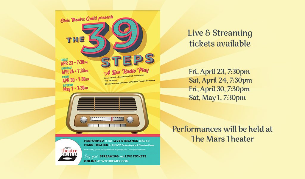 The 39 Steps – A Live Radio Play