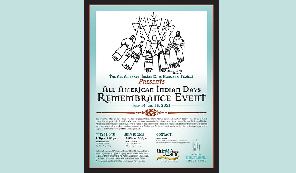All American Indian Days Remembrance Event