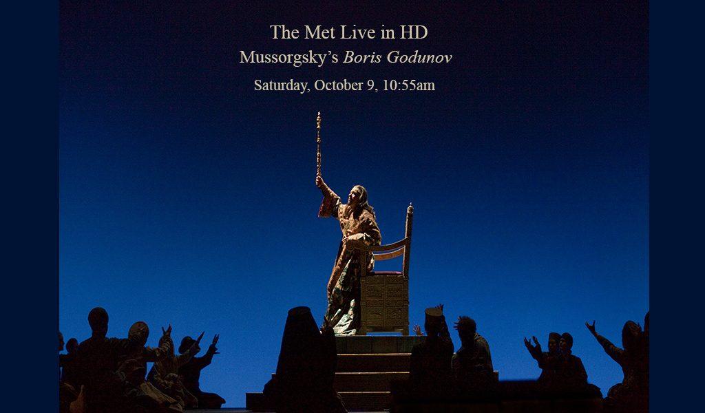 The Met Live in HD: Mussorgsky's Boris Godunov