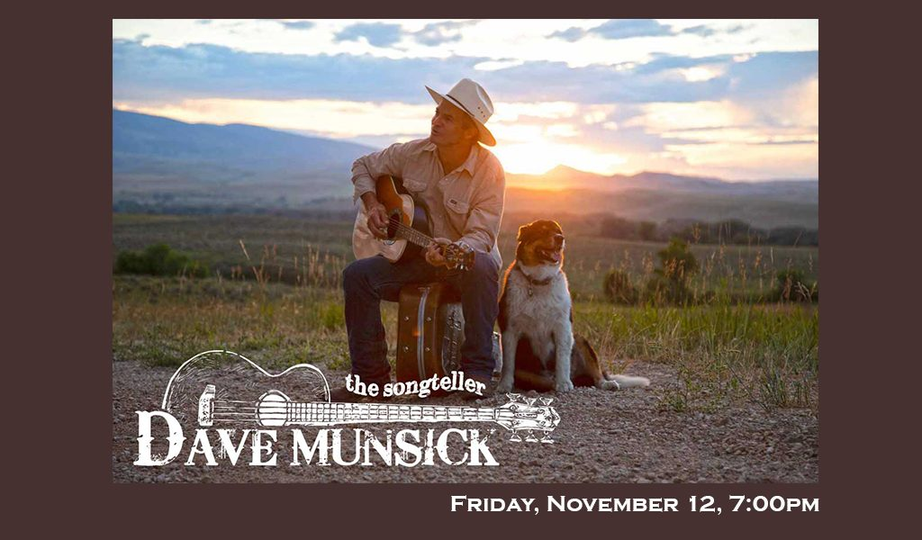 Dave Munsick: An Intimate Evening With The Songteller